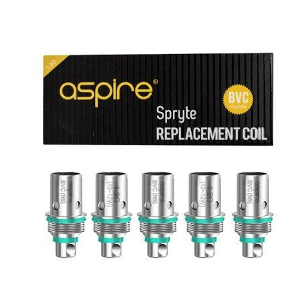 Aspire Spryte Replacement Coils 1.2 ohms 5-PK
