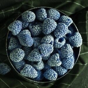 Blue Raspberry Custard