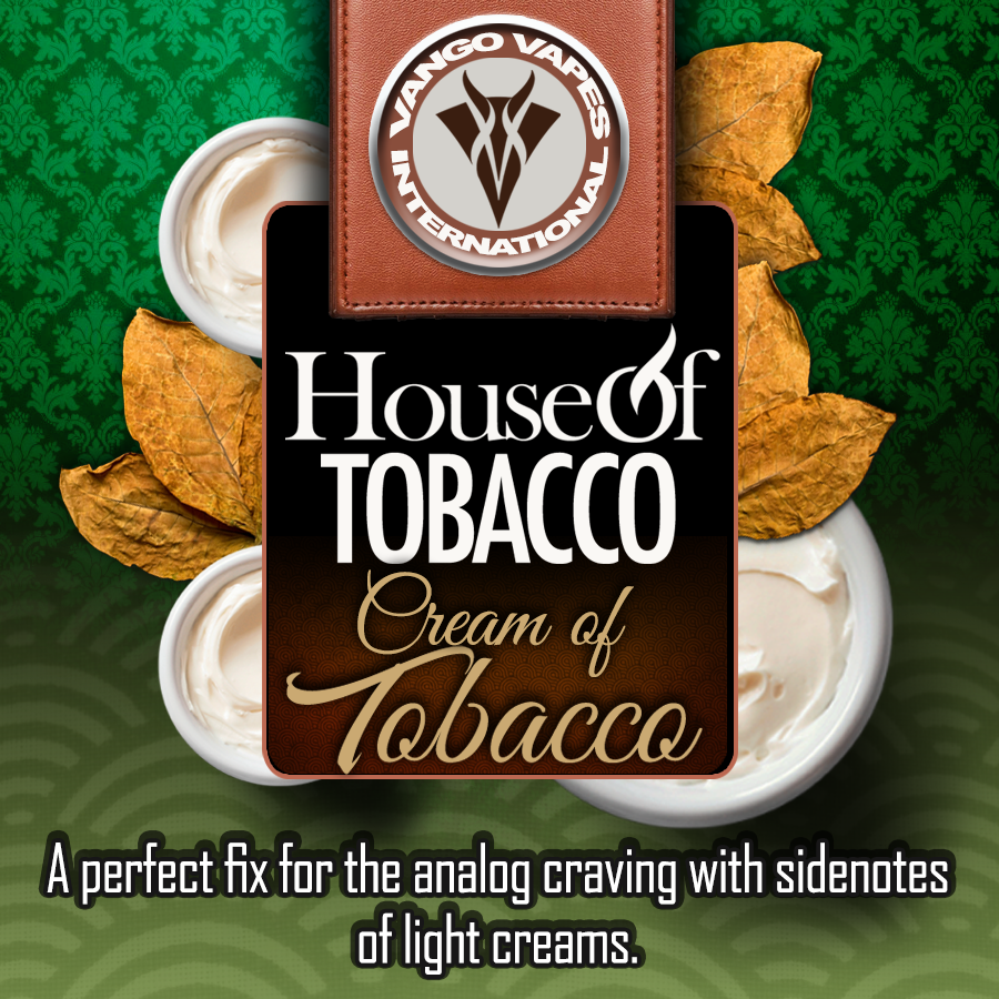 Cream of Tobacco – Vango Vapes