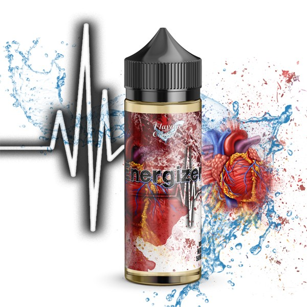FC Energizer (Red Energy) 120ml 4mg