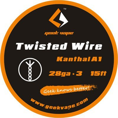 GeekVape DIY Twisted Wire (KA1 28GAx3) 15ft