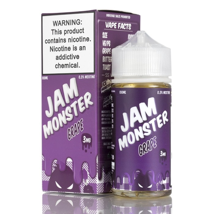 Grape Jam Monster (100ml) 3mg