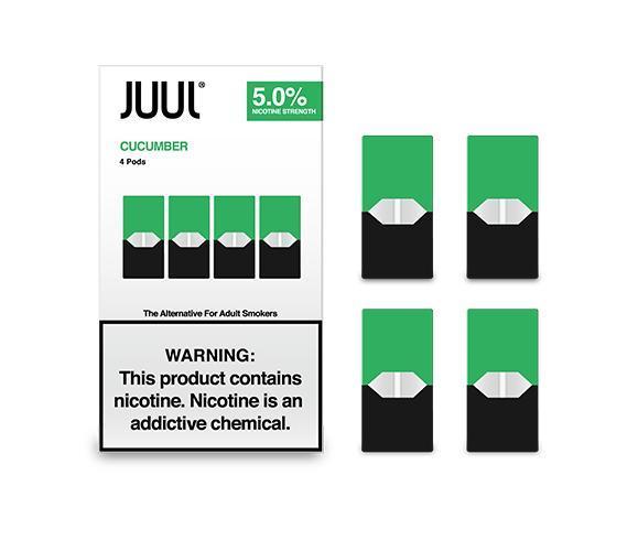 JUUL JUULPODS Cucumber 3_ 4-PK