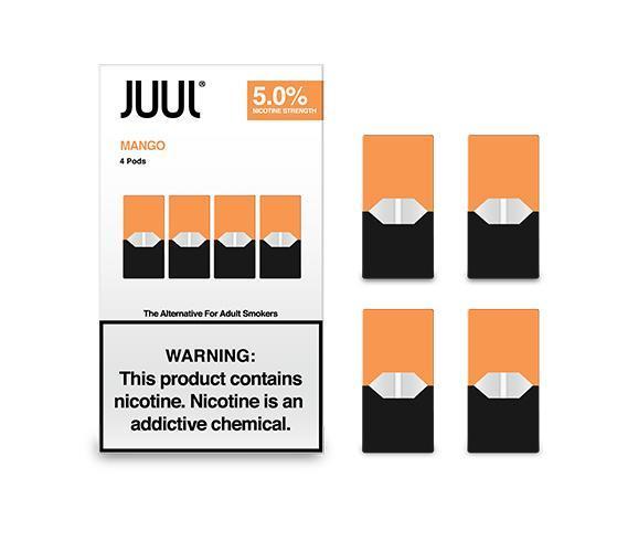JUUL JUULPODS Vanilla 3_ 4-PK