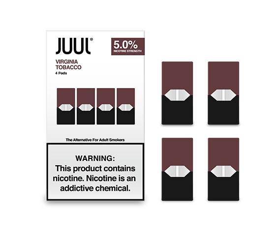 JUUL JUULPODS Virginia Tobacco 3_ 4-PK