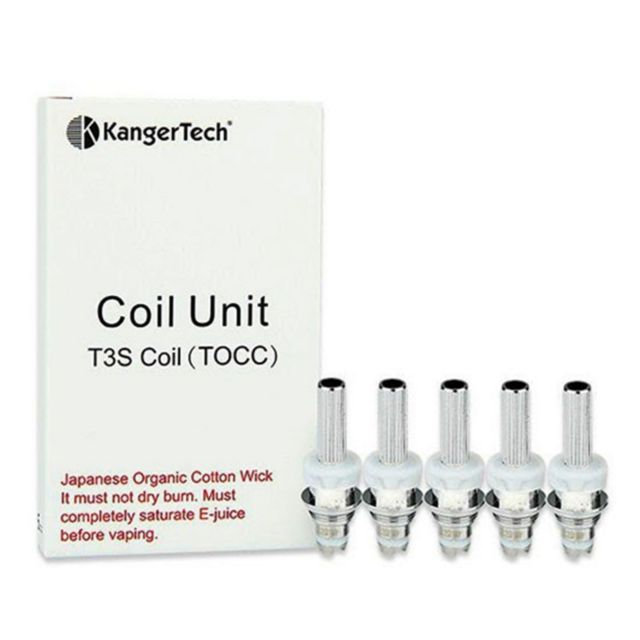 Kangertech TOCC Coil for T3S-MT3S 5-PK 1.5ohm