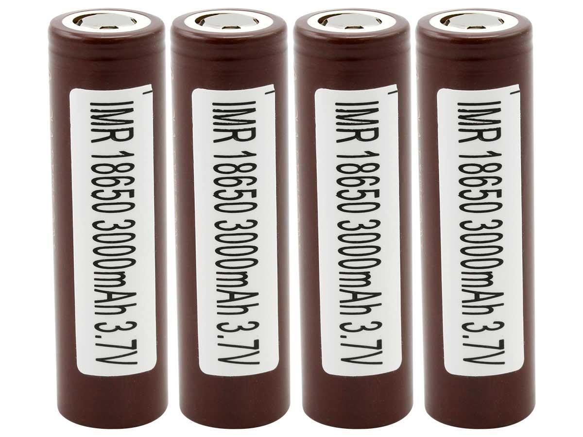LG HG2 INR 18650 3000mAh Battery