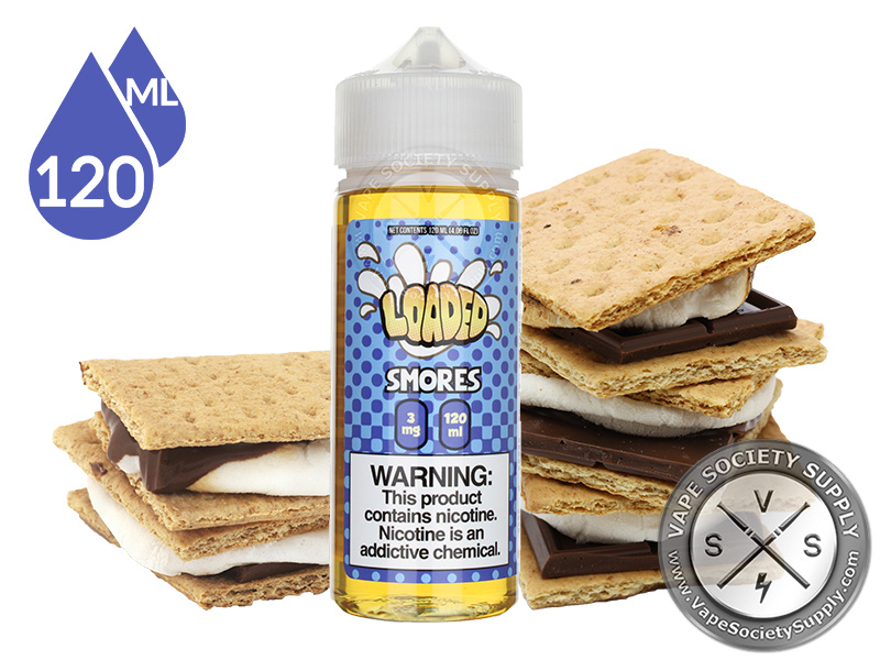 Loaded – Grahams (Smores) 120ml 3mg