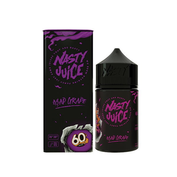 Nasty Juice – A$AP Grape (Low Mint) (60mL) 0mg