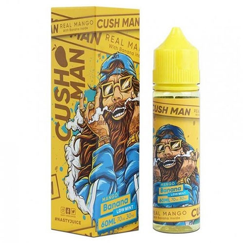 Nasty Juice – Cash Man Mango Banana (Low Mint) (60mL) 0mg