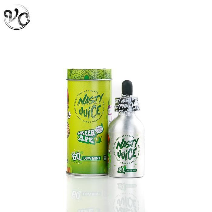 Nasty Juice – Green Ape (Low Mint) (60mL) 0mg