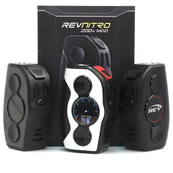 REV Nitro 200W TC Box MOD – Black