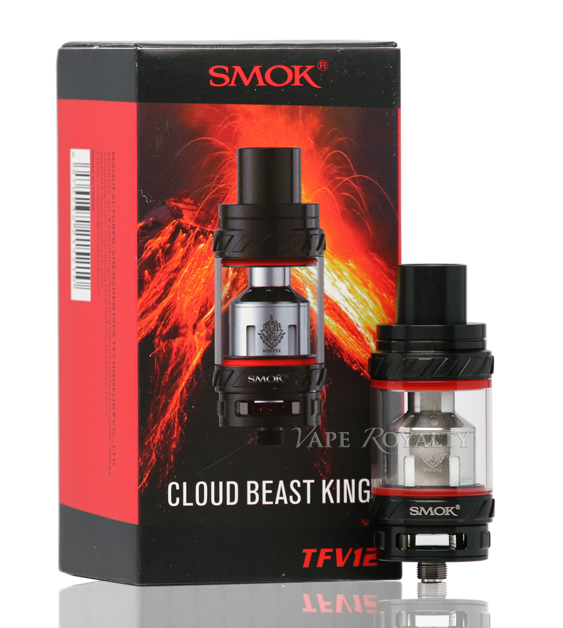 Smok TFV12 Tank Full Kit Black
