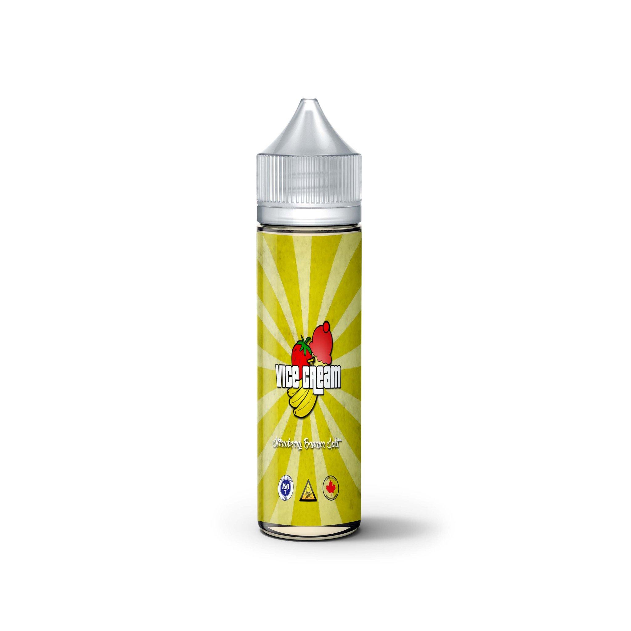 Strawberry Banana Split Vice Cream (60ml) 12mg