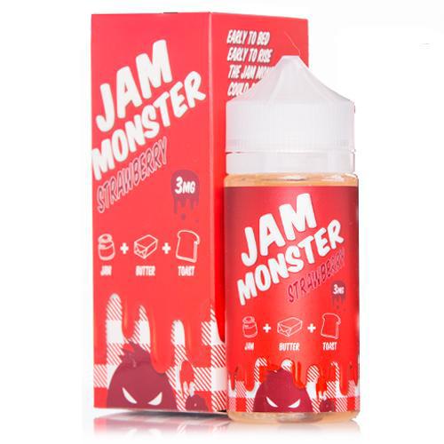 Strawberry Jam Monster (100ml) 3mg