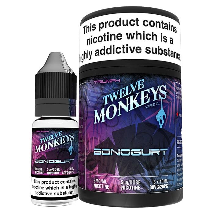 Twelve Monkeys- Bonogurt (30ml) 12mg