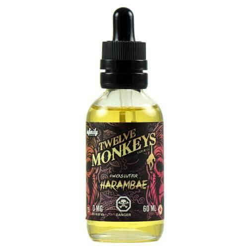 Twelve Monkeys- Harambae (60ml) 0mg