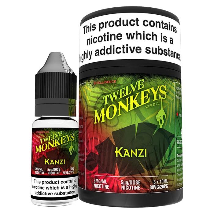 Twelve Monkeys- Kanzi (30ml) 0mg