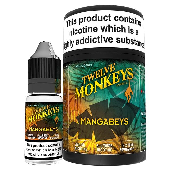 Twelve Monkeys- Mangabeys (30ml) 0mg
