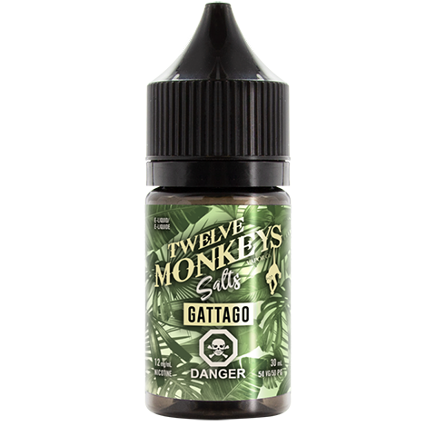 Twelve Monkeys Salts- Gattago (30mL) 12mg