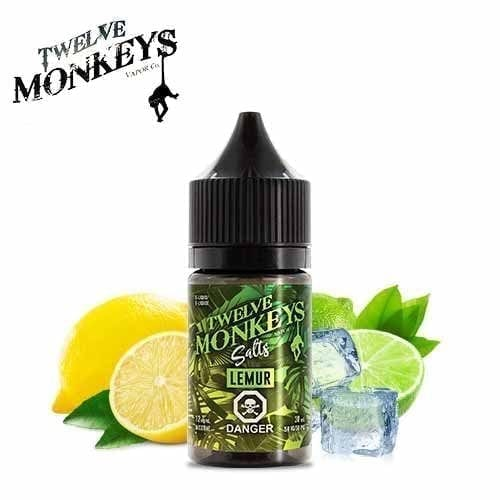 Twelve Monkeys Salts- Lemur (30mL) 12mg