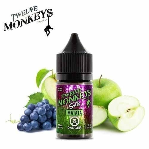 Twelve Monkeys Salts- Matata (30mL) 12mg