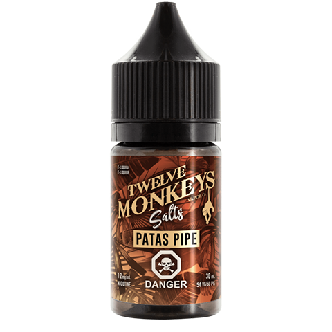Twelve Monkeys Salts- Pata_s Pipe (30mL) 12mg