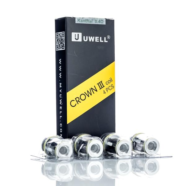 Uwell Crown 3 Coils 4-PK 0.4ohm