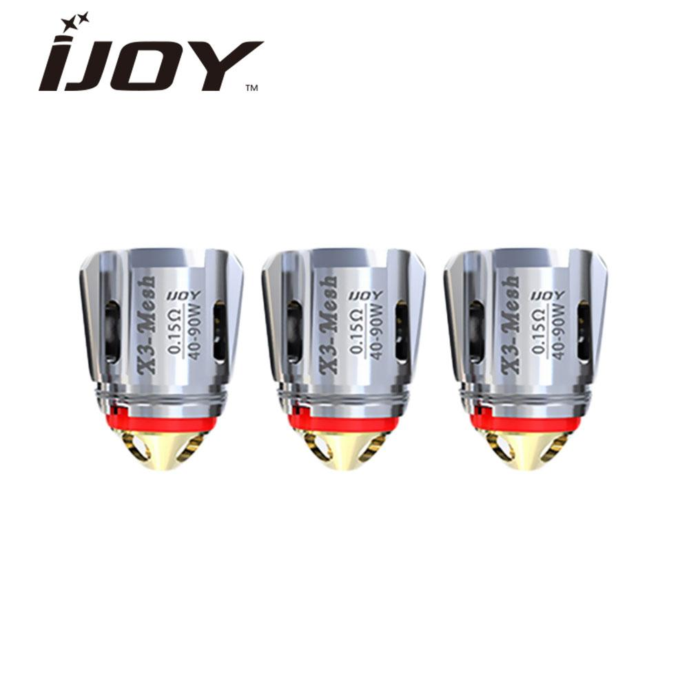 iJoy X3-C1 0.4 Atomizer Head 3-PK fits Captain X3S Tank