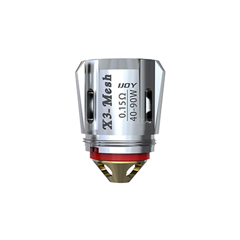 iJoy X3-C1S 0.35 Atomizer Head 3-PK fits Captain X3S Tank
