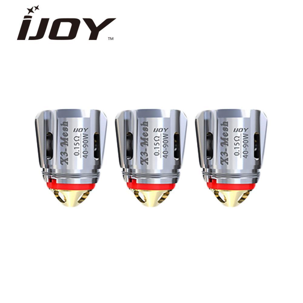 iJoy X3-C2 0.3 Atomizer Head 3-PK fits Captain X3S Tank
