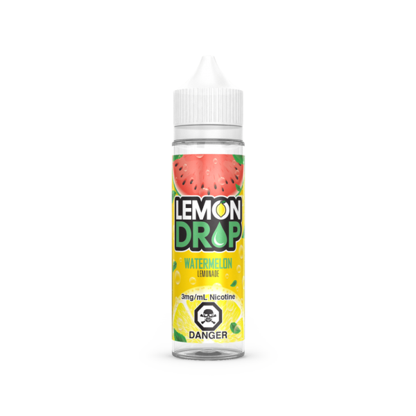 watermelon lemonade by lemon drop 60ml, available in 0-6mg